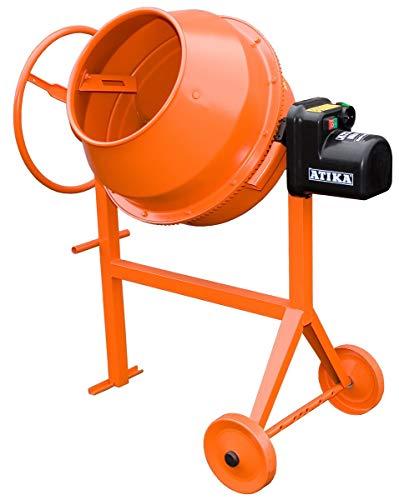 ATIKA M 130 Optimix Betonmischer Mörtelmischer Zementmischer Mischer | 230V | 700W
