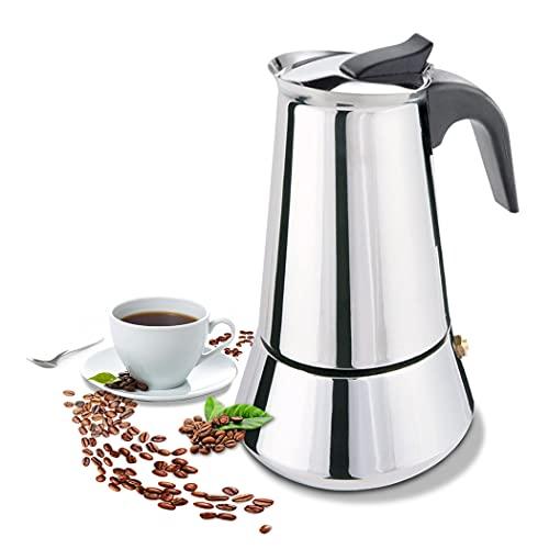 FCUS Stovetop Espresso Maker, Moka Pot,...