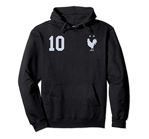France Soccer Jersey Les Bleus Football 10 Hoodie Sweater