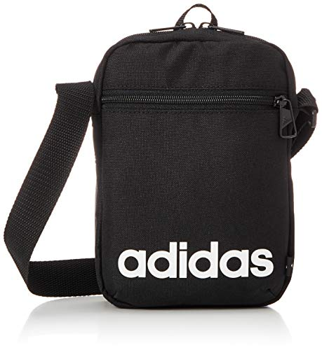 adidas GN1948 LINEAR ORG Sports bag unisex-adult black/white NS