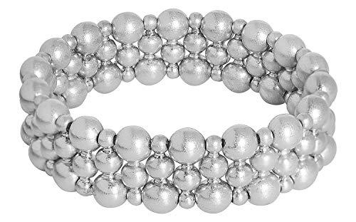 Sence Copenhagen Damen-Armband Messing One Size Silber 32001082
