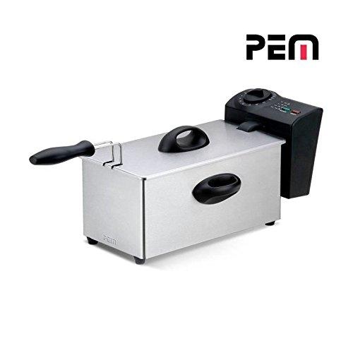 PEM DF-131 Friteuse à huile - 2000W - 3L