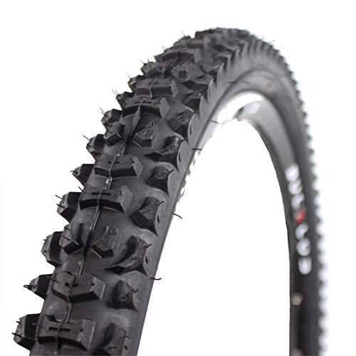 BUCKLOS 26 x 2.1 Mountain Bike Tire, 26' Bicycle Cross Country Replacement Tires, MTB Wire Bead Tires, Non-Slip and Drainage, Fit AM XC DH