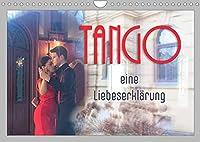 Tango eine Liebeserklaerung (Wandkalender 2022 DIN A4 quer): Tango - getanzte Leidenschaft und Liebe (Monatskalender, 14 Seiten )
