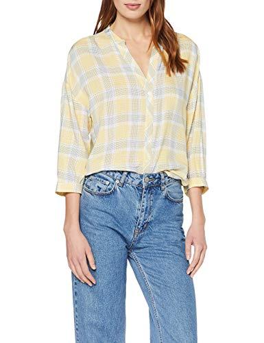 OPUS Damen Fillo Bluse, Gelb (Mellow Yellow 5067), (Herstellergröße: 36)
