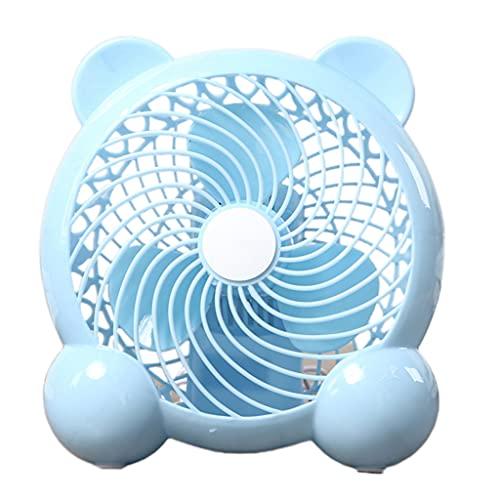 Gulang-keng Ventilador portátil USB, mini ventilador de escritorio, pequeño ventilador de mesa con fuerte flujo de aire, funcionamiento silencioso para casa, oficina, coche, viajes al aire libre