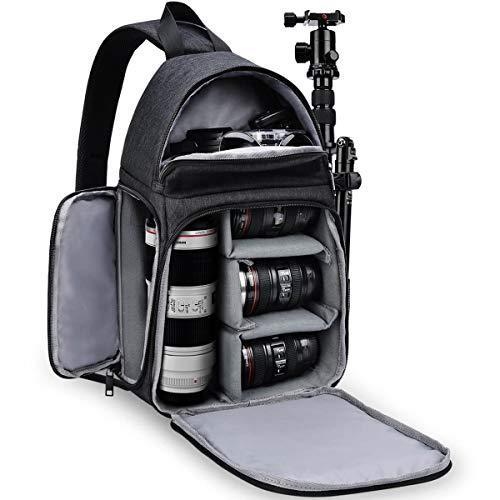 CADEN Camera Sling Bag, DSLR/SLR Crossbody Shoulder Waterproof Backpack...