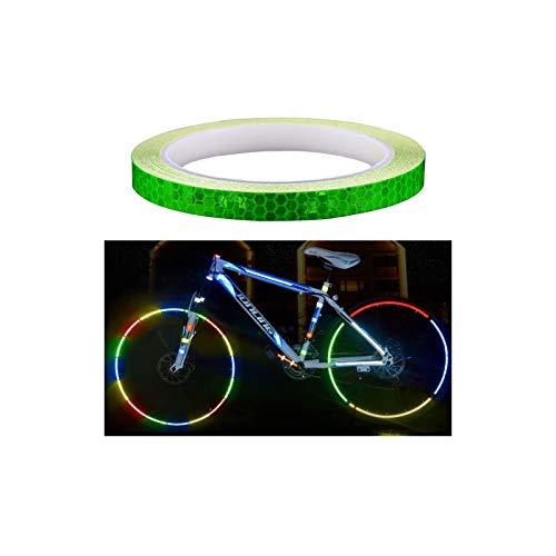 "Amaoma Bicicletta Adesivi Riflettenti 8m, per Bici, MTB, Auto, Camion, Pneumatici Moto di Mountain Bike di, Garage 315"" (verde)"