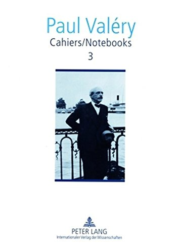 Cahiers / Notebooks 3: Editor in Chief: Brian Stimpson- Associate Editors: Paul Gifford, Robert Pickering and Norma Rinsler- Translated by Norma Rinsler, Paul Ryan and Brian Stimpson