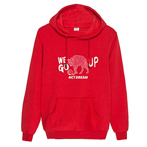 Charous KPOP NCT Dream We GO UP Sudadera con Capucha de Moda Suelta Sudadera para Mujeres Hombres Fans Outwear de Apoyo a Todo Color