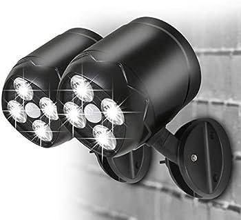 2-Pack Aityvert 600 Lumens Waterproof Motion Sensor Spotlight Outdoor