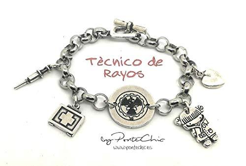 PulseraTÉCNICO DE RAYOS (Temática Profesiones).