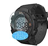 Vaxson - Juego de 3 protectores de pantalla antiluz azul compatible con Lenovo EGO Smartwatch Smart Watch, protector de película de bloqueo de luz azul [no vidrio templado]