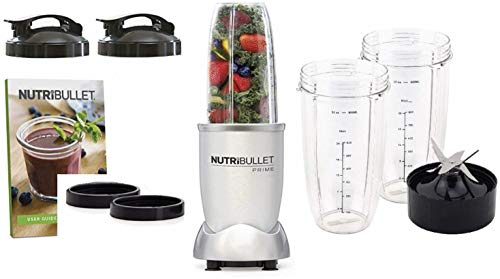 NutriBullet 1000 Watt PRIME Edition, 10-Piece High-Speed Torque Blender/Mixer System Dishwasher Safe