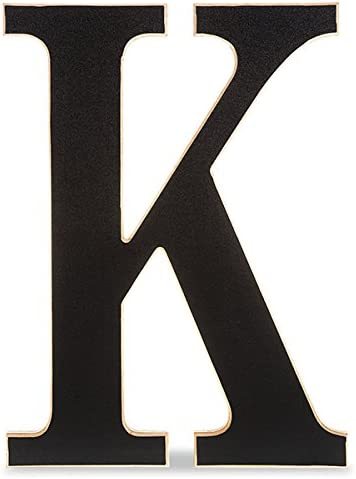 The Lucky Limited price sale Clover Trading K B Chalkboard Wood Letter Sale item Letter-24in