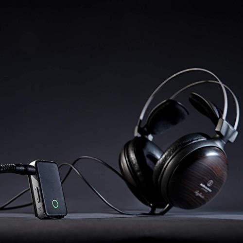 EarStudioES100MK224bitポータブル高解像度Bluetoothレシーバ/ヘッドフォンアンプ/DAC、AAC、aptX、aptXHD黒