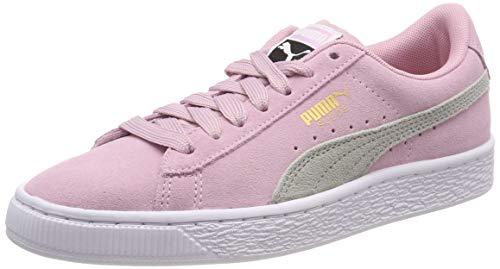 Puma Unisex-Kinder Suede Classic Jr Sneaker, Pink (Pale Pink-Gray Violet), 37 EU