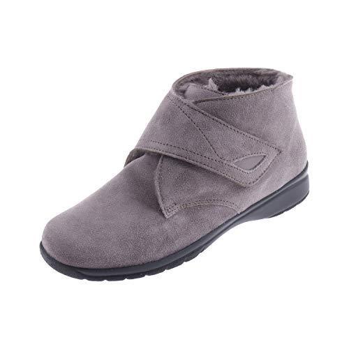 Ströber Damenschuhe Stiefel Boots Hausschuh Erde 72951047 (38.5 EU)