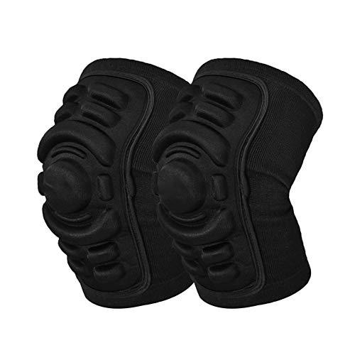 MIAOHAIYAN Sport Knie Compressie Mouw Gecapitonneerde Ondersteuning Brace Kniebeschermers Veiligheid Beschermer voor Ski Basketbal Skateboard Motorfiets Fietsen
