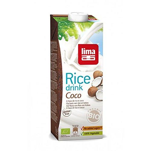 LIMA Boisson au riz Rice drink coco 1L Bio -
