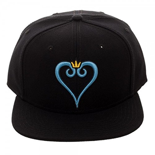 ac26783badc Kingdom Hearts Embroidered Logo Snapback Baseball Hat