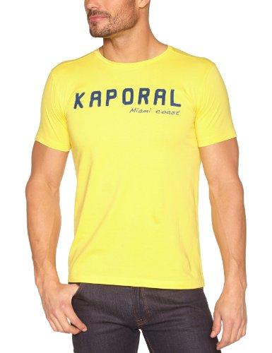 Kaporal LIHOLE13M1 T-Shirt, Jaune (Yellow), S Homme