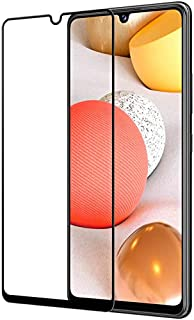 Samsung Galaxy A42 5G Screen Protector Glass Full Glue Tempered Screen Guard Anti-Fingerprints Shatter-Resistant for Samsu...