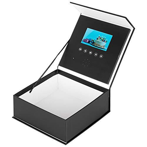 TRIPLE K - Geschenkbox mit Video und Foto (inkl. Tragetasche) Überraschungsbox mit Videonachricht als Geschenk für viele Anlässe wie Valentinstag/Jahrestag/Geburtstag