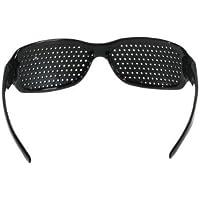 Txyk Gafas Negras Reticulares con Agujeros