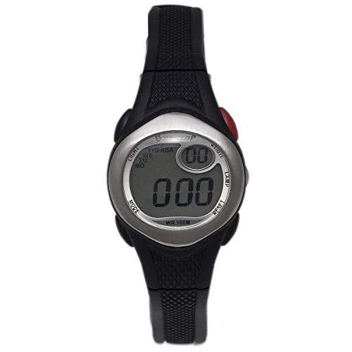Dunlop Unisex Erwachsene Digital Quarz Uhr mit Gummi Armband DUN177L01
