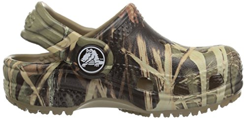 Crocs Unisex-Child Classic Realtree Clog | Camo Slip on Water Shoes