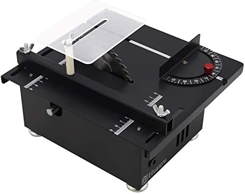 Huanyu Mini Table Saw Thickness 40MM Desktop Speed...
