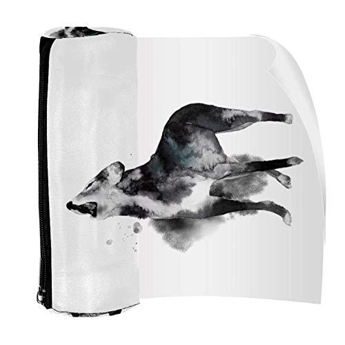 Wolf Pack - Estuche para lápices de pintura con cremallera para artículos de papelería, viajes, escuela, suministros para estudiantes