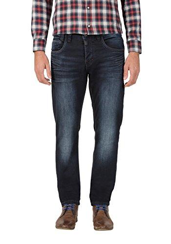 Timezone Herren Regular GerritTZ Straight Jeans, Blau (Indigo Rough Wash 3200), W36/L32