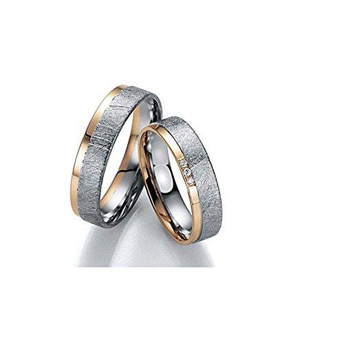 Trauringe Eheringe Gold Palladium Made in GERMANY BRILLANT 05000064 Top Design