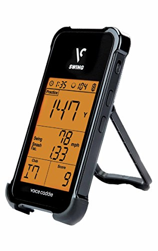 Voice Caddie SC 100 Portable Golf Launch Monitor, Black