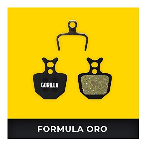 Formula Bremsbeläge ORO für Fahrrad Scheibenbremse I Organisch I Hohe Bremsleistung I Langlebiger & Passgenauer Bremsbelag