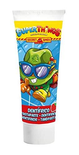 Superthings Dentifrico Infantil Pasta de Dientes Sabor Fresa 75 ml