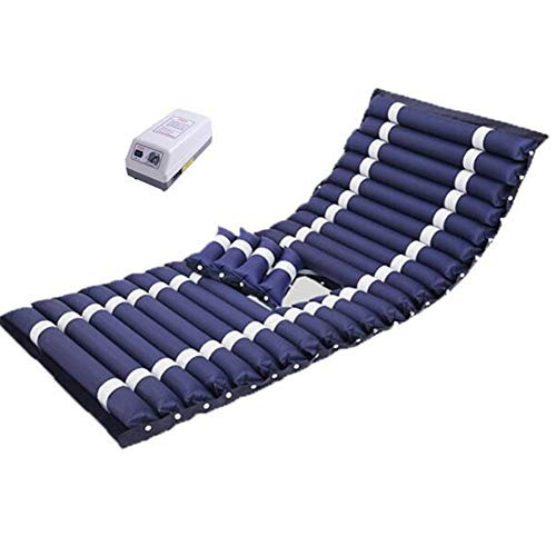 Decubitus Kit with air Mattress and Regulation Pump, Alternating Pressure Mattress, Quiet, Inflatable Bed Air Topper, Fits Standard Hospital Bed, Support 135KG