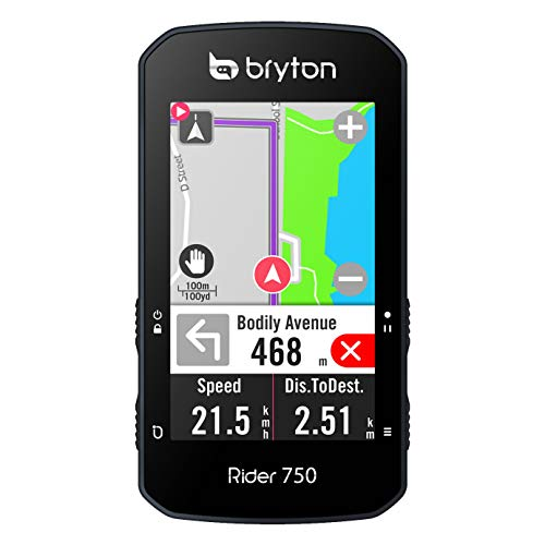 CICLOCOMPUTADOR GPS BRYTON Rider 750 E