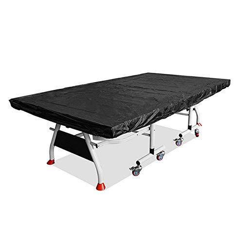 Genlesh - Copertura per tavolo da ping pong, impermeabile, antipolvere, resistente alle intemperie, protezione per tavoli da ping pong, per interni ed esterni, 280 x 150 cm