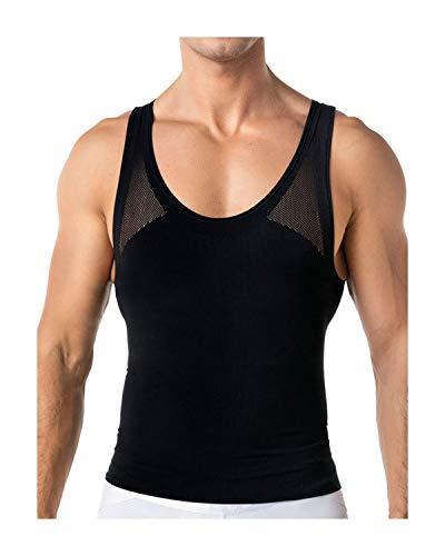 LEO Nueva Camiseta Atlética de Máxima Compresión