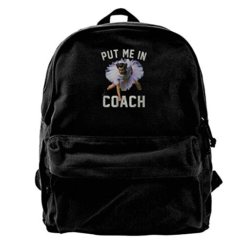 Student Backpack Ace Ventura Put Me In Shoulder Pack Bag Daypack Bookbag Men Women Boys Girls Laptop Backpack Rucksack Daypack