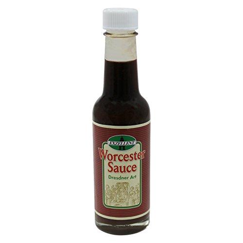 3er Pack Exzellent Worcester Sauce Dresdner Art (3 x 140 ml), Worcestersauce, Würzsoße, Gewürzsoße