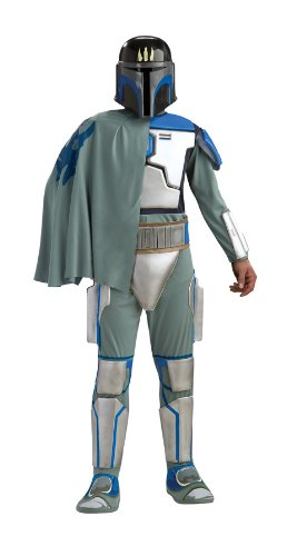 Rubie's Men's Star Clone Wars Deluxe Pre Vizsla Costume, As Shown, Extra Large
