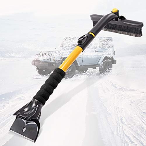 RSTJ-Sjap Multi-Function Retractable Snow Shovel, Car Brush Ice Scraper...
