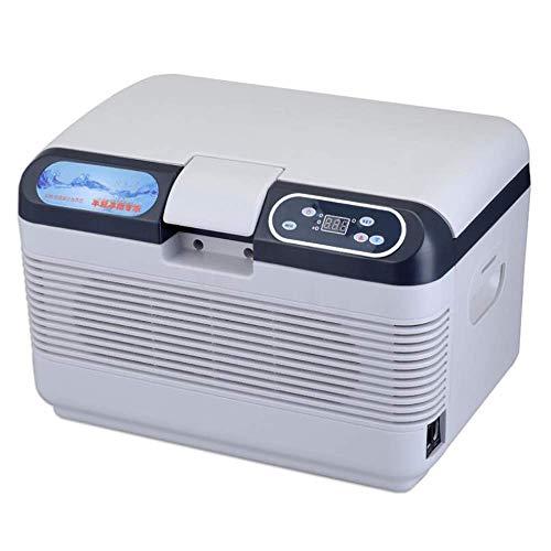 12L Pantalla Digital de Doble núcleo Micro-Temperatura del Coche refrigerador eléctrico más Fresca y más for el Coche y Home H15.74 * * W11.22 Pulgadas D11.22 de alimentación de CC Mini kshu