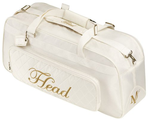 HEAD Tennistasche Maria Sharapova Racket Bag Court, weiß, 72 x 31 x 24 cm, 55 liters, 283093