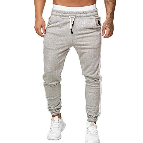 Styledress Hose Herren, Jeans mit Reißverschluss Herren,Casual Jogging Pants Cargo Chino Bodybuilding Lange Hose Trousers Sport Sweatpants Herren Trainingsanzug Fitness-Workout Jogginghose