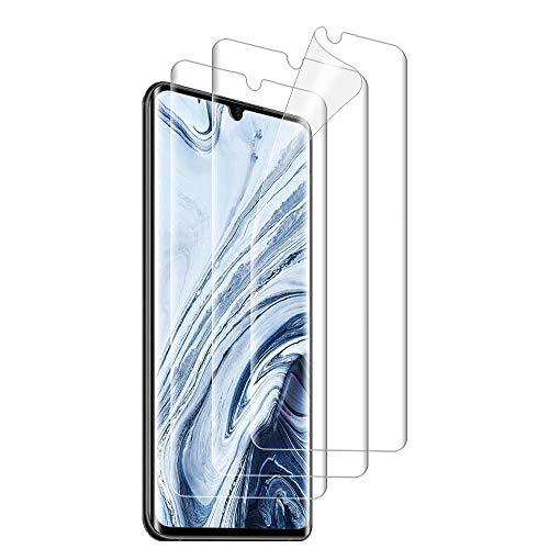 Preisvergleich Produktbild ANEWSIR 3 Stück Schutzfolie für Xiaomi Mi Note 10 / Note 10 Pro / Note 10 Lite,  Weich TPU Displayschutzfolie mit Vollständige Abdeckung,  Ultra-HD,  Hüllenfreundlich,  Blasenfrei